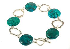 Turquoise and Sterling Silver Bracelet