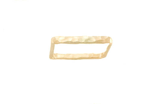 Gold Filled Square Stackable Ring