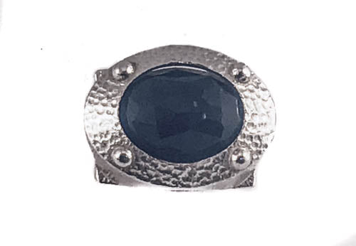 Black Onyx Matters Sterling Silver Ring