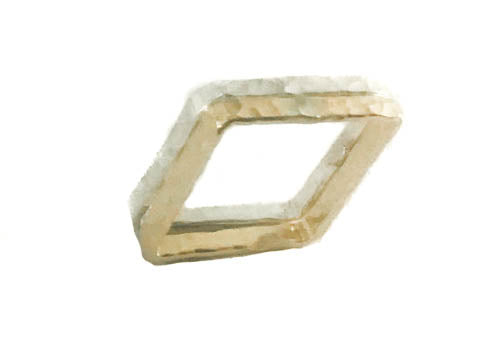 Don't Be Square Sterling Silver Ring Band