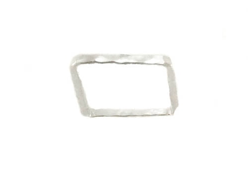 Sunshine Sterling Silver Square Band with Citrine Stone