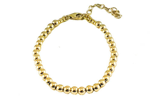 Having a Ball Gold Filled Bracelet