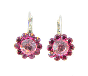 Say it with Flowers Earrings - Pink