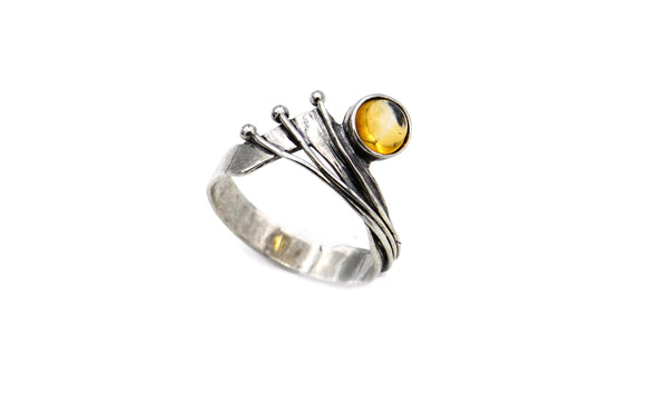 Let the Sunshine In Sterling Silver Ring