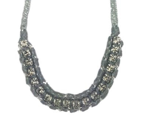 Set in Crystals Necklace