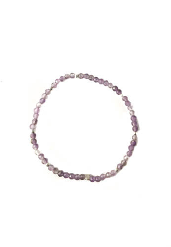 Purple Pleasures Stretch Bracelet