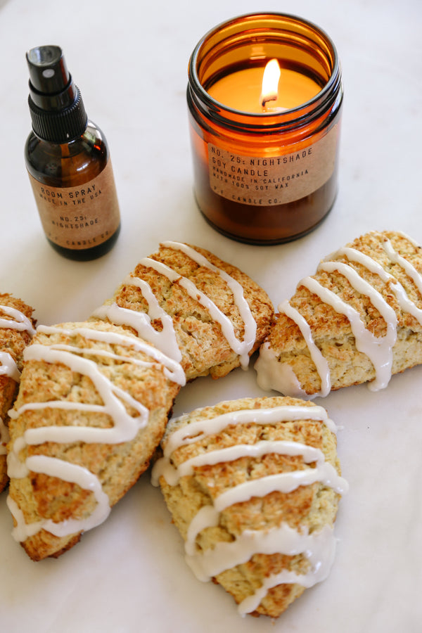 SCENT-INSPIRED RECIPES: COCONUT LAVENDER SCONES BY KENDRA ARONSON
