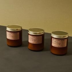 P.F. Candle Co. Seasonal scented soy wax candles best for fall and winter