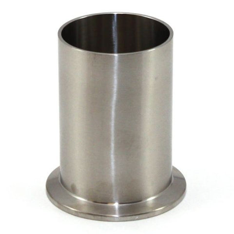 "2.500"" Light Duty Tank Ferrule 304 Stainless Steel"