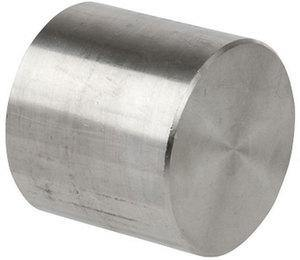 ".500"" (1/2"") 3000# Cap 304 Stainless Steel"