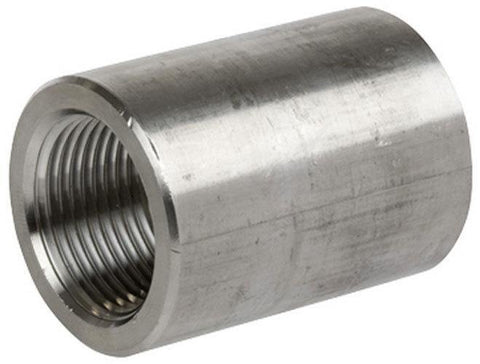 "1.000"" (1"") 3000# Coupling 304 Stainless Steel"