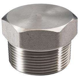 ".750"" (3/4"") 3000# Plug Hex Head 316 Stainless Steel"