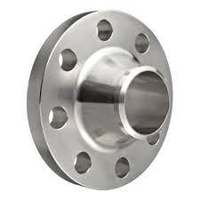 "4.000"" (4"") 150# Weld-Neck, Sch 40S, Raised Face Flange 316L Stainless Steel"