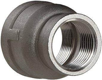 "1.000"" x .250"" (1"" x 1/4"") 150# Bell Reducer 304 Stainless Steel"