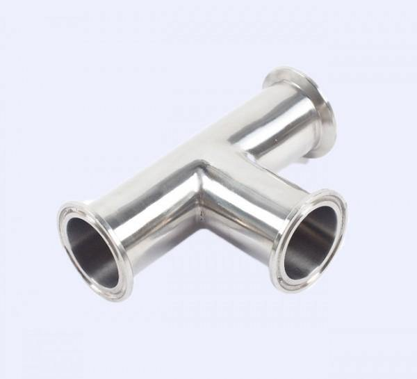 "2.000"" (2"") Tee Clamp End Sanitary 304 Stainless Steel"