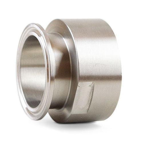 "1.500"" Clamp x 1.500"" Female NPT Sanitary Adapter 304 Stainless Steel"