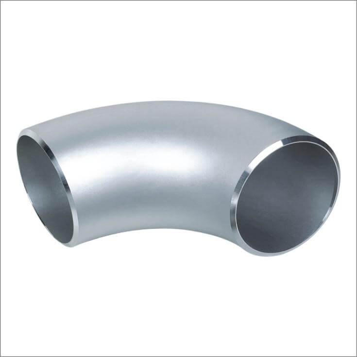 "4.000"" (4"") 90° long Radius Elbow Schedule 10 Butt Weld 316L Stainless Steel - Ace Stainless Supply"