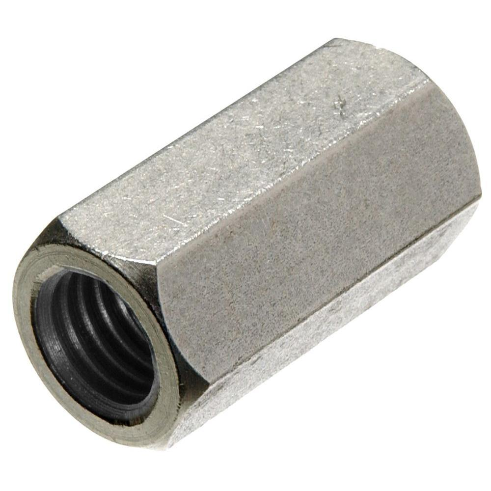 ".625"" (5/8"") Coupling Nut 18-8 (304) Stainless Steel"