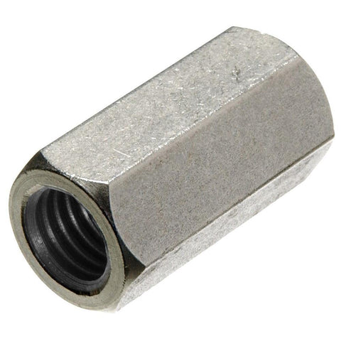 ".500"" (1/2"") Coupling Nut 18-8 (304) Stainless Steel"
