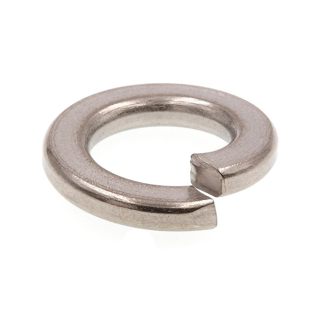 ".500"" (1/2"") Split Lock Washer 18-8 (304) Stainless Steel"