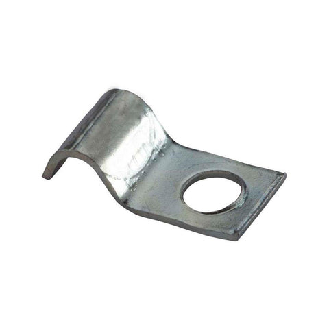 ".375"" (3/8"") One Hole Tube Strap (Routing Clamp) 316 Stainless Steel"