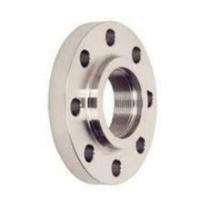 "4.000"" (4"") 150# Threaded, Raised Face Flange 304L Stainless Steel"