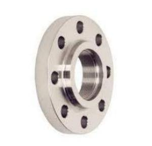 "4.000"" (4"") 150# Threaded, Raised Face Flange 316L Stainless Steel"
