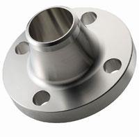 "1.000"" (1"") 150# Weld-Neck, Sch 40S, Raised Face Flange 304L Stainless Steel"