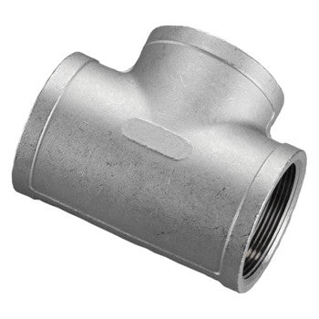 "2.500"" (2-1/2"") 150# Tee 316 Stainless Steel"