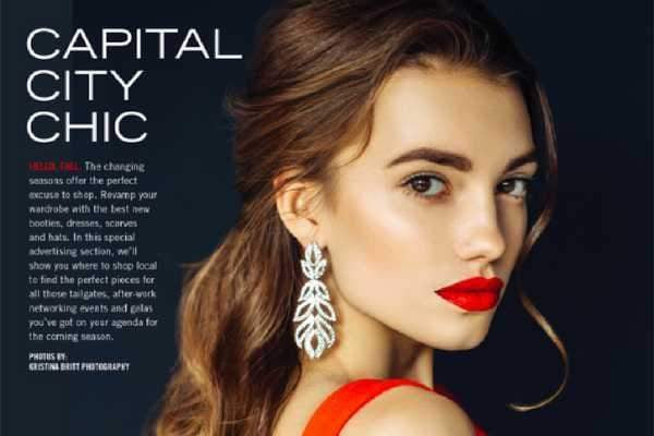 Capital City Chic [225] Magazine Shoot-Article & Thread Boutique