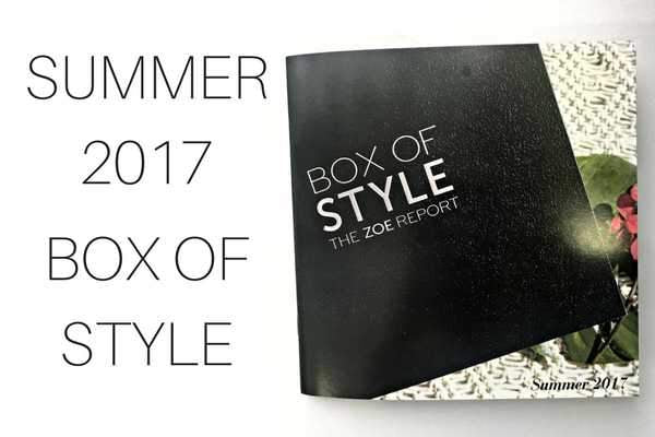 Rachel Zoe's Box of Style: Summer 2017!-Article & Thread Boutique