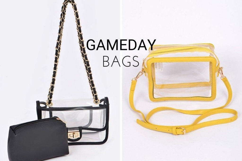 game day bags for LSU football season