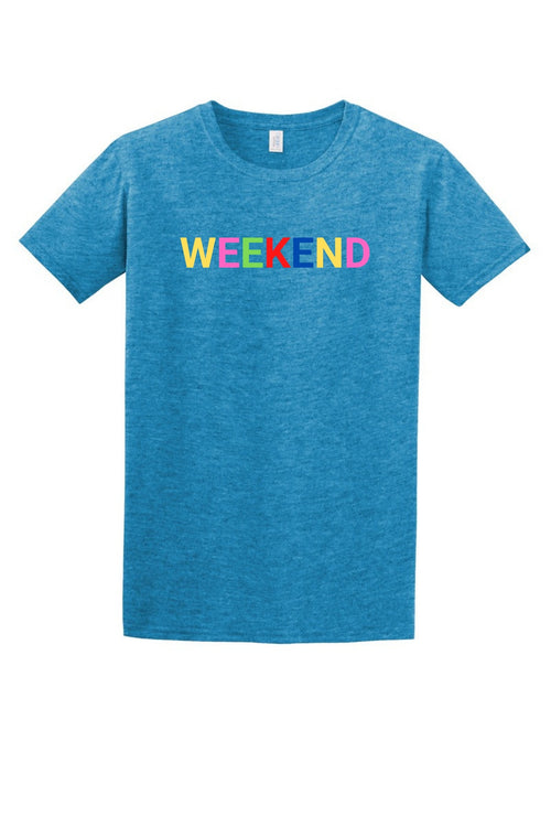 WEEKEND Women's T Shirt-Article & Thread Boutique