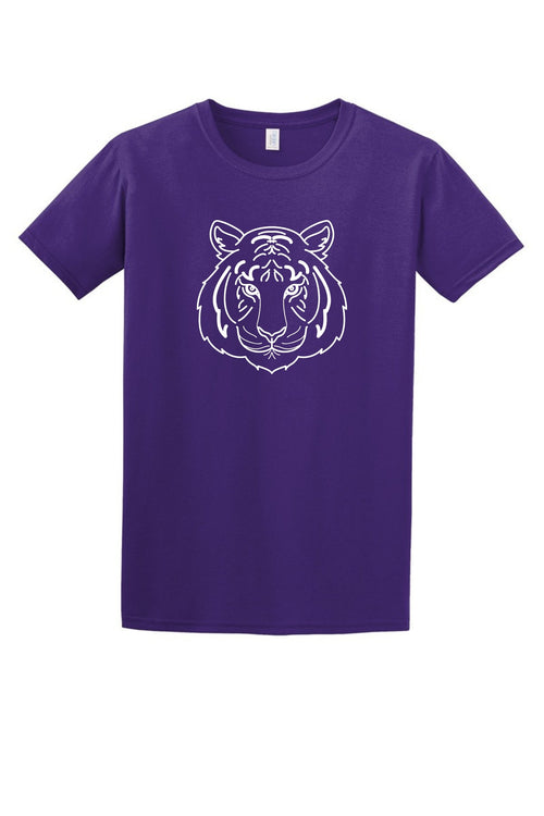Tiger Face Women's T Shirt-Article & Thread Boutique
