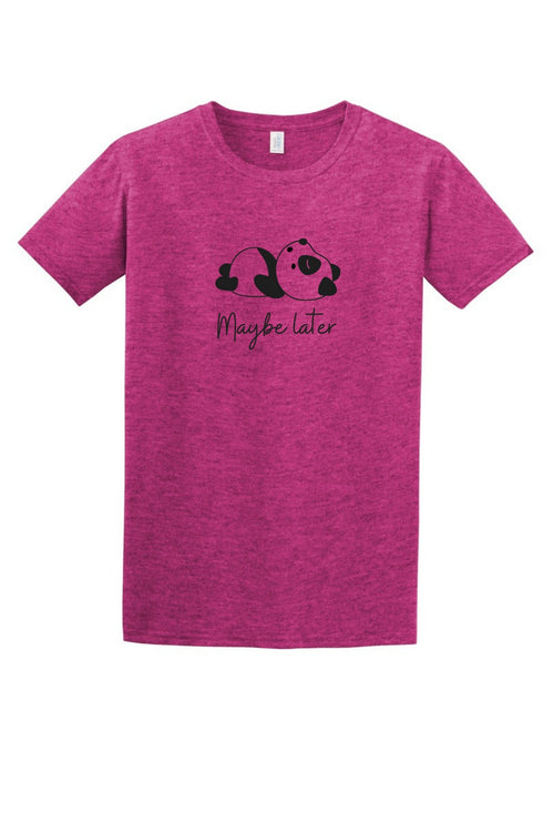 Maybe Later Women's T Shirt-Article & Thread Boutique