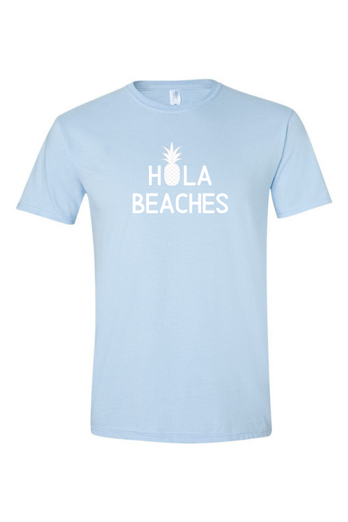 Hola Beaches Men's T Shirt-Article & Thread Boutique