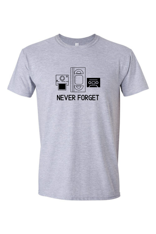 Never Forget Men's T Shirt-Article & Thread Boutique