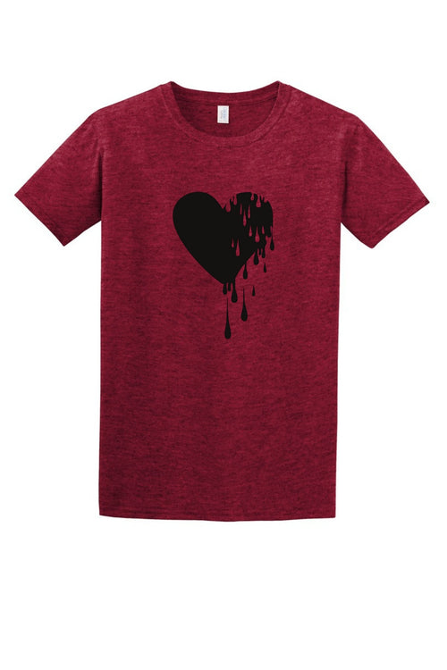 Heart Drip Women's T Shirt-Article & Thread Boutique