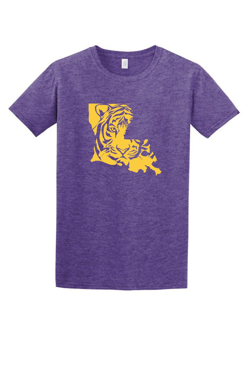 Louisiana Tiger Women's T Shirt-Article & Thread Boutique