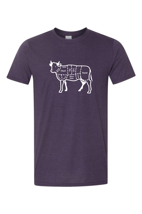 Steak Cuts Men's T Shirt-Article & Thread Boutique