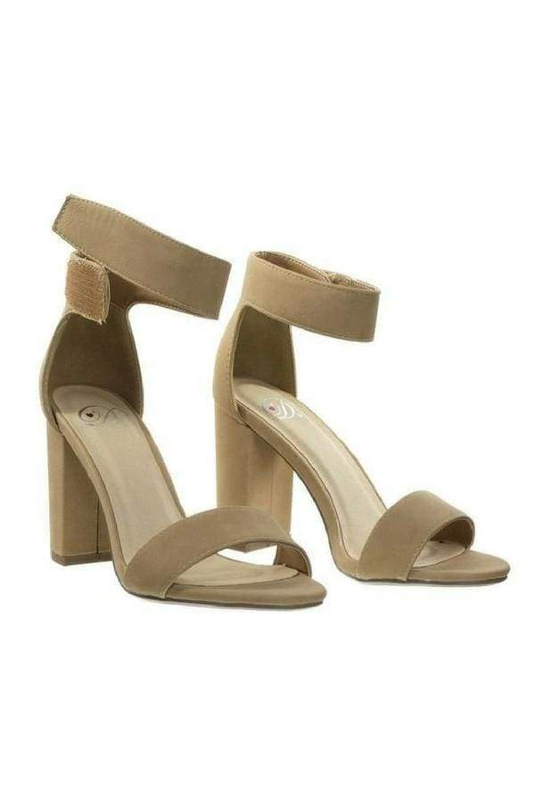 Ankle Strap Chunky Heel-Article & Thread Boutique