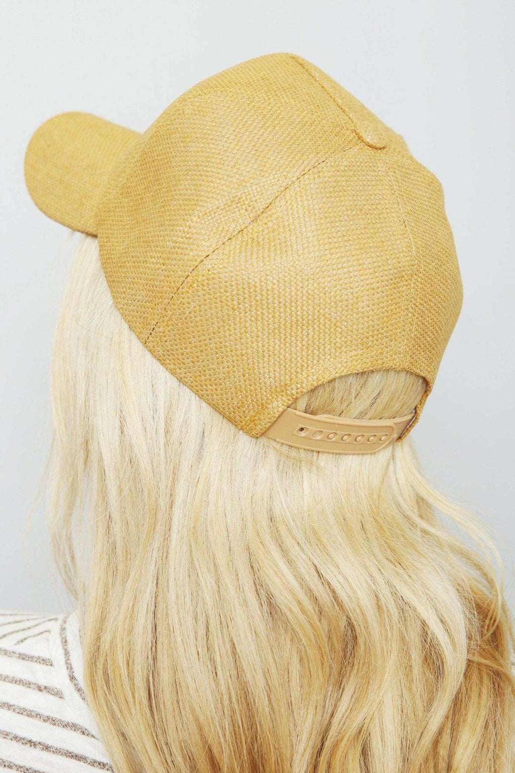 Burlap Flamingo Cap-Article & Thread Boutique