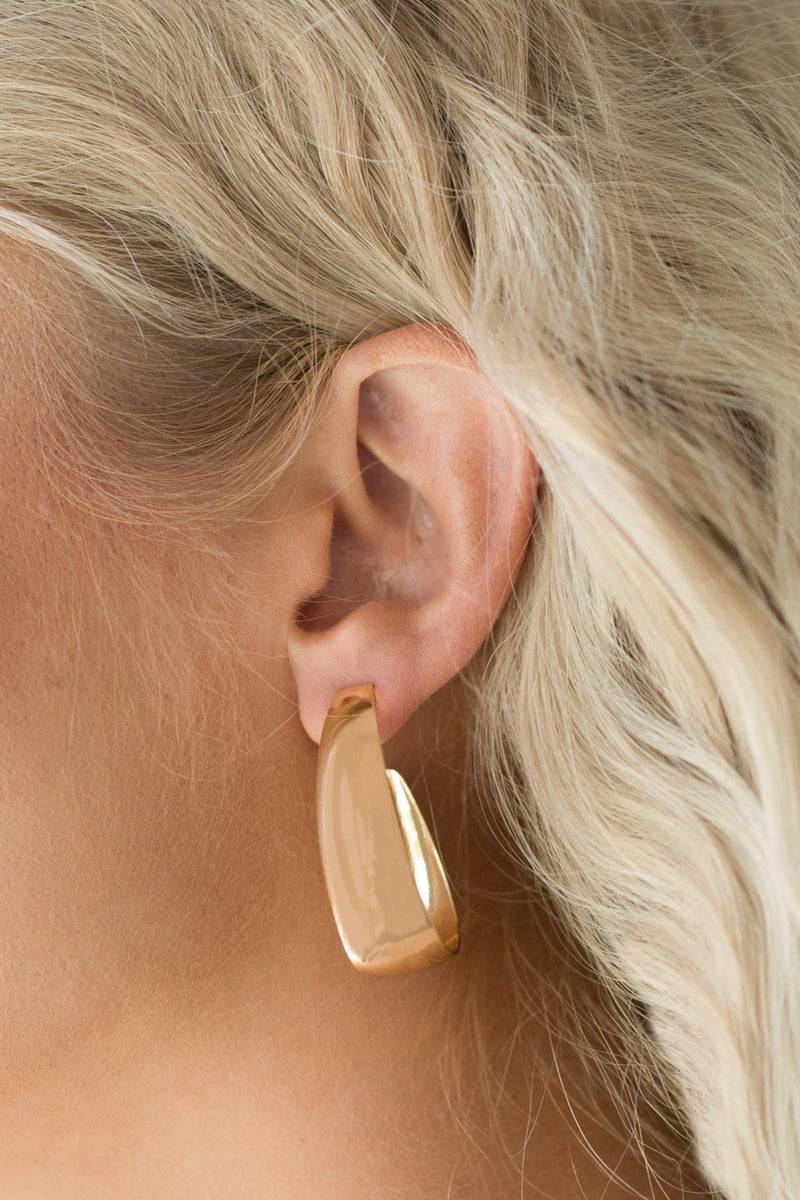 Chunky Hoop Earrings-Article & Thread Boutique