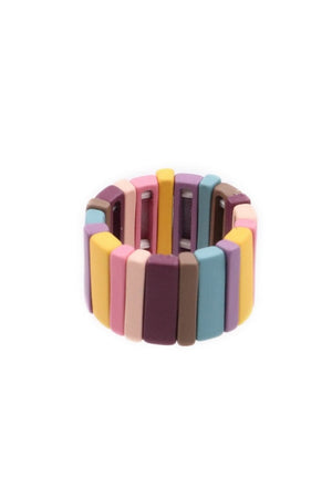 Color Block Stretch Rings-Article & Thread Boutique