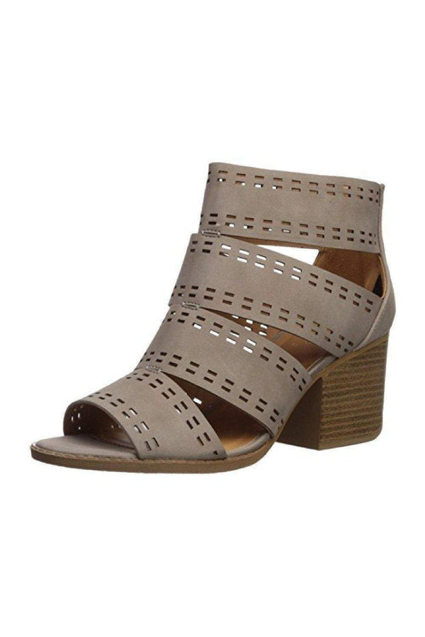 Cut Out Caged Chunk Sandal from Shoes Collection