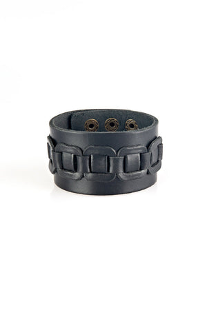 Detailed Leather Band Cuff-Article & Thread Boutique