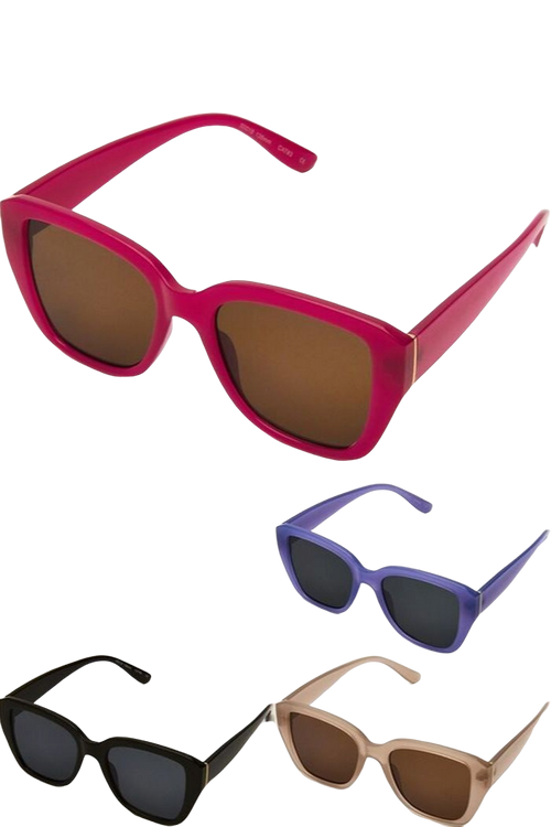 Essential Gold Accented Sunglasses-Article & Thread Boutique