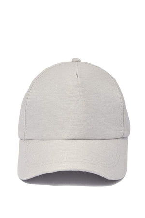 Grey Adjustable Baseball Cap-Article & Thread Boutique