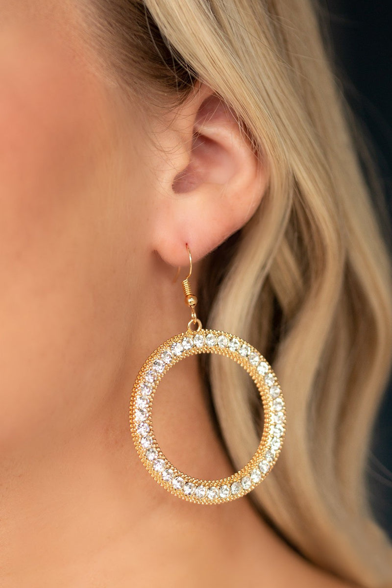 Halo Hoop Earrings-Article & Thread Boutique