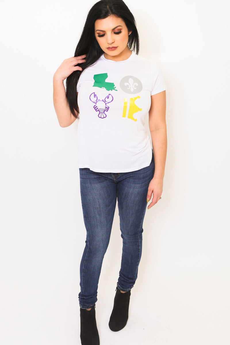 Louisiana LOVE Tee-Article & Thread Boutique